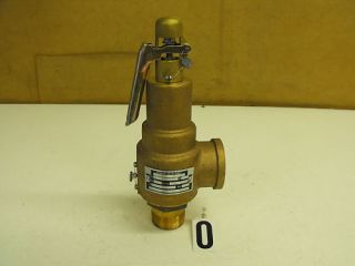 Kunkle Safety Pressure Relief Valve Model 6021GF01AM