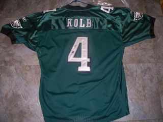 Kevin Kolb Philadelphia Eagles Signed Jersey COA
