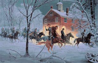 Mort Kunstler Fairfax RAID Civil War Print