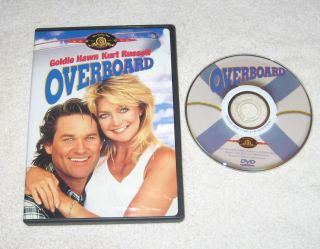 Kurt Russell OVERBOARD Goldie Hawn EXCELLENT CONDITION Roddy McDowall