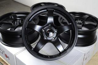 17 Kudo Wheels Rims 5x114 3 Mazda 3 5 6 RX7 RX8 Eclipse Lancer Scion