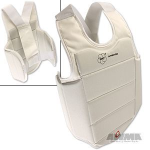 WKF Chest and Body Protector Guard Martial Arts Karate