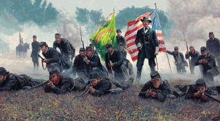 Mort Kunstler Hancock The Superb Civil War Print