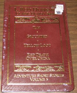 Ron Hubbard Adventure Short Stories Vol 5 Leather