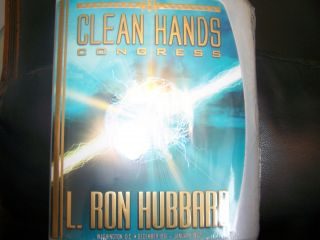 CLEAN HANDS CONGRESS L RON HUBBARD SCIENTOLOGY Washington DC Audiobook