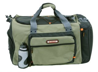Rockland 22 Gym Bag Duffle with Sports Water Bottle Olive