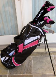 NEW Womens Complete Golf Set Clubs Ladies Driver Wood Hybrids Irons