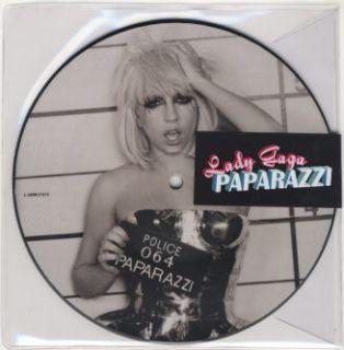 Lady Gaga   Paparazzi   7 Picture Disc   UK   New
