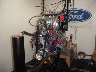 Ford 460 based stroker short block 600cid all forged internals