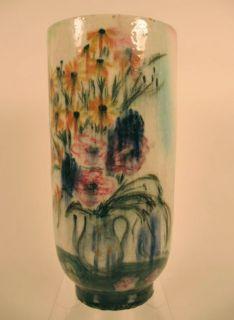 Cikovsky Stonelain AAA American Art Pottery Vase