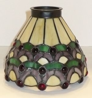 Beautiful Tiffany Style Stained Glass Lamp Shade New in Box