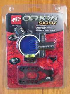 PSE Archery New Orion 5 Pin Bow Sight 019 41569