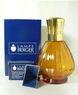 Lampe Berger Fragrance Aroma Lamp 33784 Ambre Glass