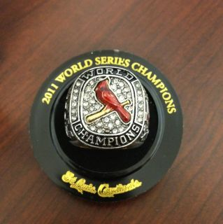 St. Louis Cardinals 2011 World Series Replica Ring w org. Box SWEET