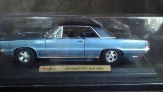 Maisto 1 18 Metal Die Cast 1965 Pontiac GTO Hurst Edition