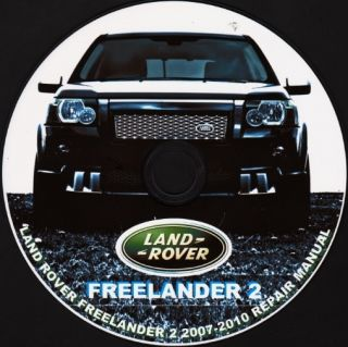 LAND ROVER FREELANDER 2 2006 2010 REPAIR SERVICE AND WIRING MANUAL ON