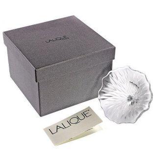 Lalique 1403500 Crystal Vibration Motif Fleur Flower Perfume Top