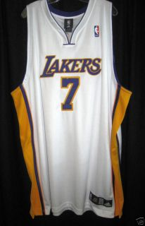 Los Angeles Lakers Lamar Odom Authentic Game Jersey