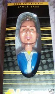 Lance Bass of NSYNC Bobblehead Doll 2001 Best Buy