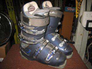 Lange Comp 100 Performance Womens Ski Boots Skis Size 6 5
