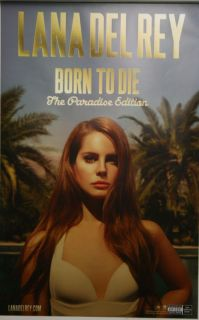 Lana Del Rey Born to Die The Paradise Edition Poster Print 14x22 2012