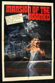 of The Doomed 1976 1sh Movie Poster Lance Henriksen Horror 76