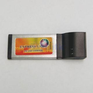 Ethernet ExpressCard Laptop Notebook Network Card Gigabit Adapter