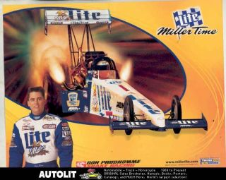 1998 Larry Dixon Don Prudhomme Dragster Miller Lite NHRA Drag Race