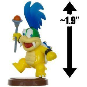 Larry Koopa 1 9 Mini Figure New Super Mario Bros Wii Choco Egg Series