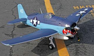 Large Scale Hellca F6F Airplane Remoe Conrol Elecric RC ARF RxR