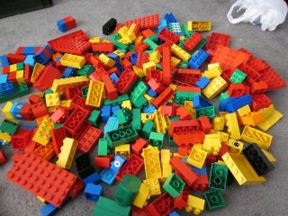 Big Lot of Lego Duplo Building Blocks