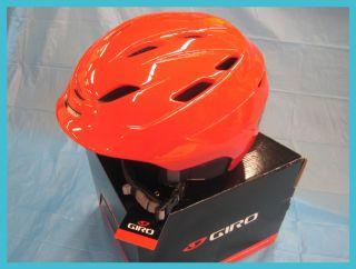2012 Giro Nine 10 Snow Helmet Large Red Ski Snowboard Helmet