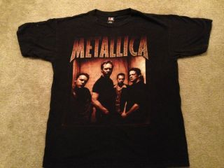 VINTAGE 1998 Metallica Concert Shirt Lars Ulrich Detroit Boston