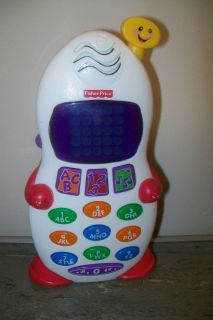 Fisher Price Laugh Learn Phone Toy Learning Telephone