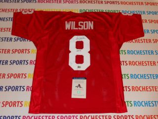 LARRY WILSON autographed signed St Louis Cardinals Jersey AAA