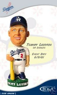 Tommy Lasorda 2001 La Dodgers Bobble Bobblehead SGA