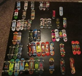 50 Tech Deck Skateboards and Ramps