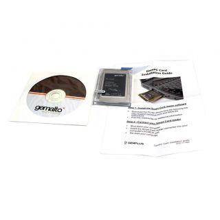 Gemalto PCMCIA Smart Card Reader Writer CN 0G719K G719K
