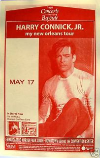 Harry Connick Jr 2009 Concert Tour Poster Big Band