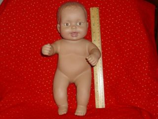 12 Lauer Water Babies Baby Doll 2008 Brown Eyes Hispanic WB Heart