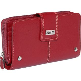 Buxton Westcott Zip Organizer Clutch 3 Colors