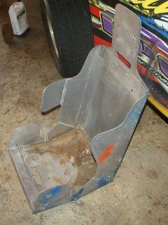 17 inch Alum Racing Seat No Cover Dirt Late Model IMCA Race Car