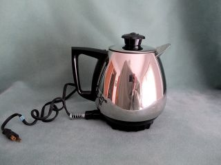 Vintage Retro Salad Master Jet O Matic Electric Percolator Coffee