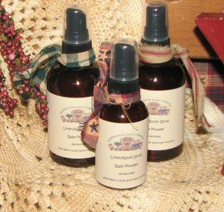 VANILLA CARAMEL Linen Room Spray 2 oz Car Air Freshener Travel Gift