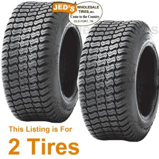 15 6 00 6 Riding Lawn Mower Garden Tractor Turf Tires P332 4ply