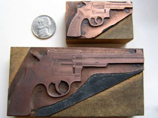 Smith Wesson Printing Blocks K Short bbl Long 1940s Geo Lawrence