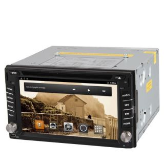 LCD Display 3D Car Radio iPod DVD Player AM FM USB SD GPS TV Wifi