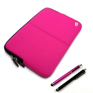 Pink Sleeve Case Cover Bag Le Pan TC 970 Google Android Tablet w 2X