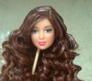 Barbie Kayla Lea Doll Head Only