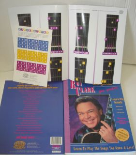 ROY CLARK BIG NOTE SONGBOOK LEARN TO PLAY GUITAR FINGERBLOCK GUIDE